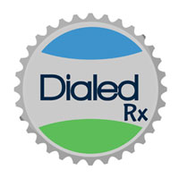 Dialed Rx logo